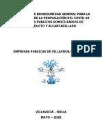 Protocolo de Bioseguridad ESP Villavieja