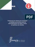 Protocolo Jardines Maternales