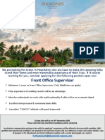Front Office Supervisor (1)