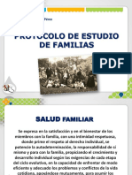 PROTOCOLO DE ESTUDIOS DE FAMILIAS