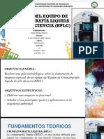 Elaboración de Maqueta Del Equipo de Cromatografia de Alta Eficacia (Hplc)