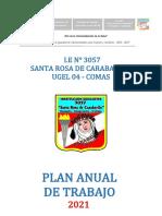 PLAN DE TRABAJO DE  PAT