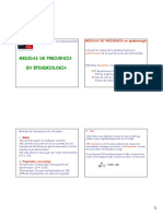 Medidas epidemiología