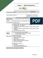 Anexo I - Memorial Descritivo - Allegra Pinhais - Contrato R01(1)
