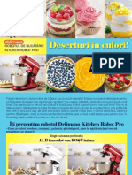 Retete Deserturi RO DLM Kitchen Robot PRO Red White RecipeBook