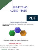 Volumetria ácido-base presentación 1