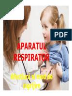 Suport de curs - Aparatul respirator afectiuni si mod de ingrijire-4.4.2020-OAMR