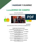 CUADERNO DE CAMPO jabon biodegradable