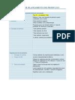 REGRAS DE PLANEAMENTO DE PRODUÇÃO