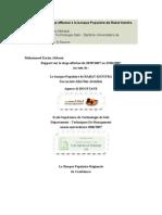 Rapport de Stage banque Populaire Rabat