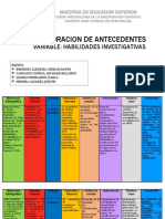 EXPOSICION METODOLOGIA ANTECEDENTES