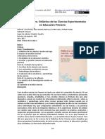Didáctica de las Ciencias Experimentales