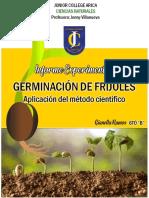Germinación de fríjoles (Aplicación del método científico).docx