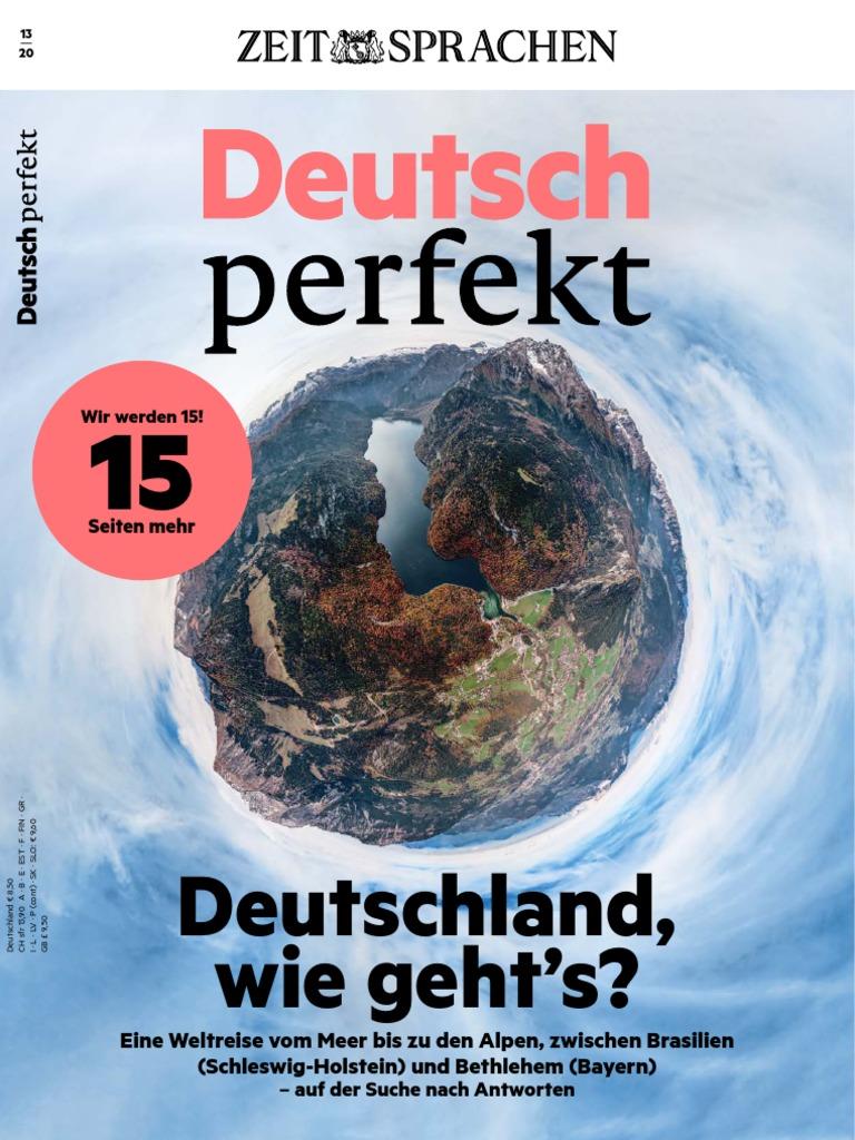 Deutsch Perfekt 8 No 8 PDF   PDF