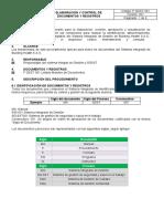 Anexo 11. Procedimiento para Control de Documentos
