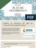 Plan De Desarrollo Colombiano
