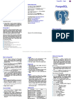 PostgreSQL Promo Flyer