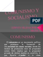 Comunismo y socialismo.pptx JEINNYS JIMENEZ