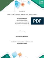 105010_5_Unidad1_Fase2. Unad. Econometría-MODELOS DE REGRESIÓN LINEAL SIMPLE Y MÚLTIPLE