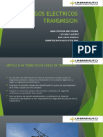 RIESGOS ELECTRICOS presentacion