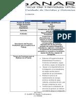 PROFESIOGRAMA SERVICIOS GENERALES