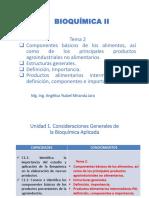 TEMA 2 Bioquímica II