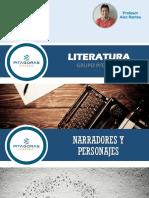 LITERATURA  T02-TEORÍA LITERARIA (Narrador y personaje)-Prof. Alex Ramos