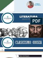 LITERATURA T03-CLASICISMO (Odisea)-Prof. Alex Ramos