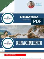 LITERATURA T07-RENACIMIENTO