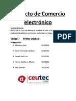 Proyecto de Comercio electrónico BGD