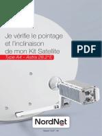 Vérification Pointage Inclinaison Kit A4