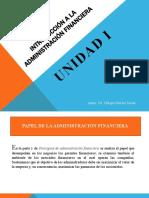 Aspectos Funadamentales de las Finanzas.