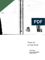 Dewey - 1960 - Teoría de La Vida Moral (1965)