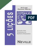 Neville Goddard - 5 LIÇÕES.docx