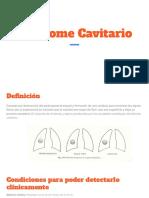 Sindrome Cavitario