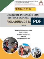 Trabajo 2 Voladura de Rocas i Daniela Estefany Navarro Mamani 2018-101001