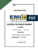CONTROL DE RANGO DIVIDIDO