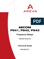 MiCOM P941_P943_P943_Technical Guide