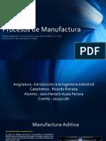 Actividad 6.1 Procesos de manufactura
