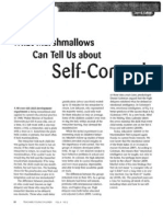 Self-control article