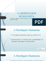 A_ABORDAGEM_HUMANISTA