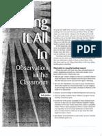 Observation article