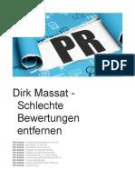 Dirk Massat - Schlechte Bewertungen Entfernen