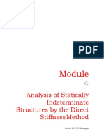 statically indeterminate structures by the Direct stiffness method-8