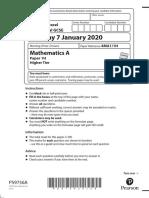 Edexcel-IGCSE-Higher-January-2020-Paper-1H