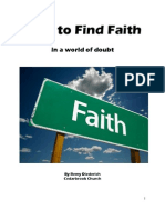 How to Find Faith