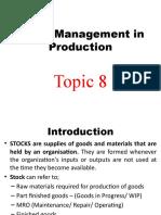 Topic 8