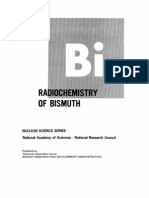 the radiochemistry of bismuth.US AEC