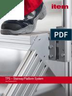 PDF-Katalog item TPS-Platform System Catalouge 2013 Spring