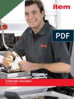 PDF-Katalog item New Products 2013 Spring